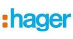 Logo firmy Hager